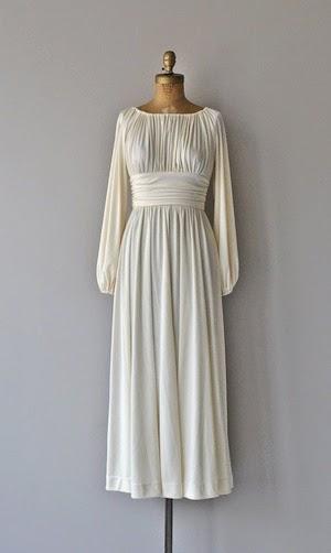 robe mariage etsy vinage