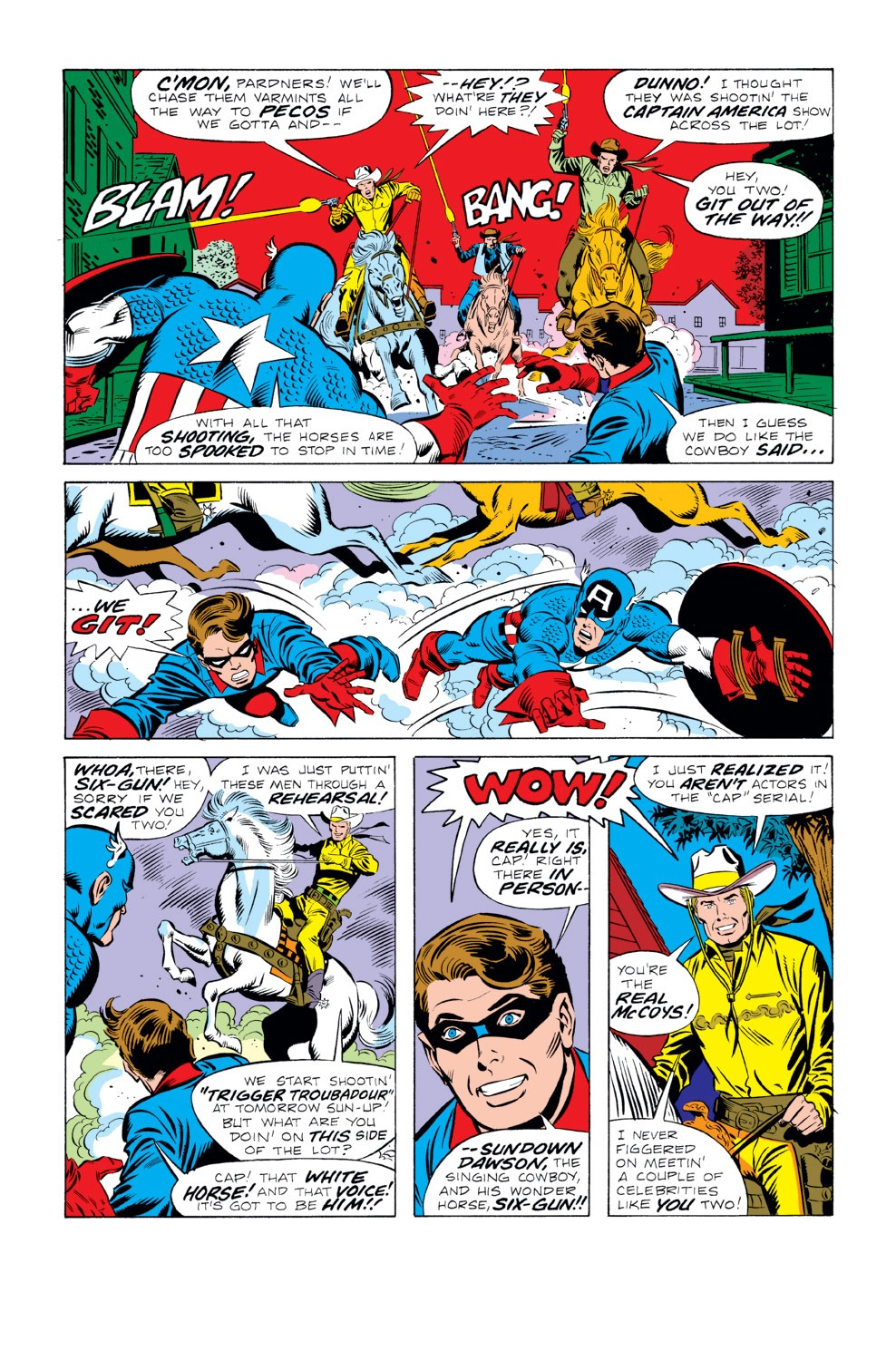 Captain America (1968) Issue #219 #133 - English 5