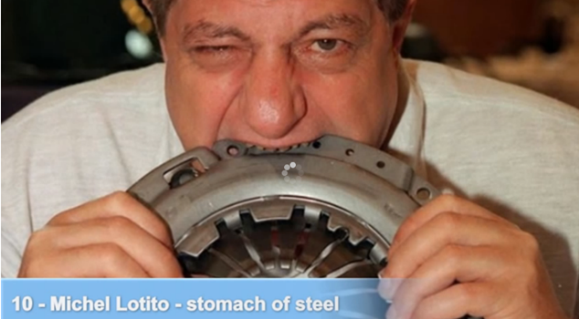 Michel Lotito - stomach of steel