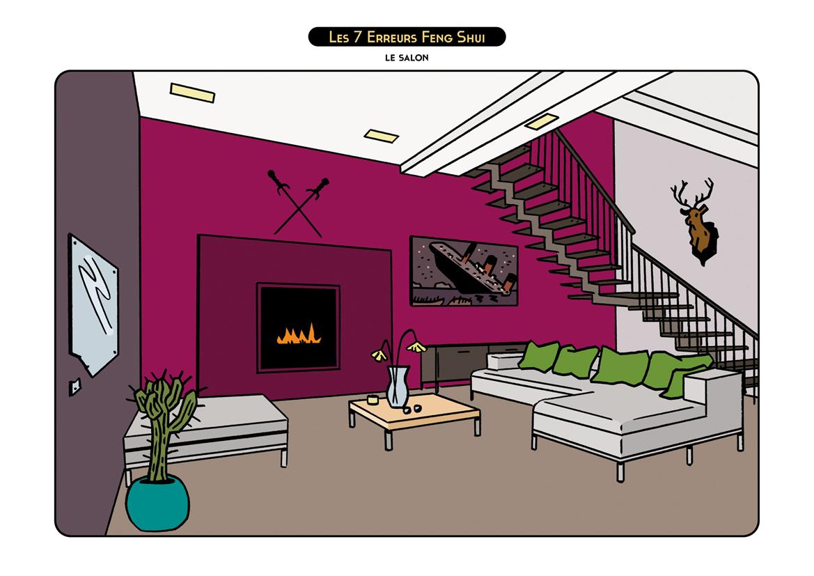 brice follet les 7 erreurs feng shui. Black Bedroom Furniture Sets. Home Design Ideas