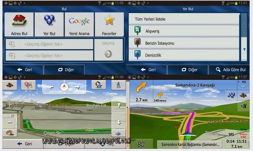 İGO Primo 2.4 v9.6.29.356072 HD Navigasyon Android Full Apk indir