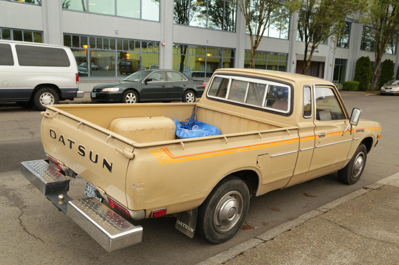 1976 Datsun 620 pickup.