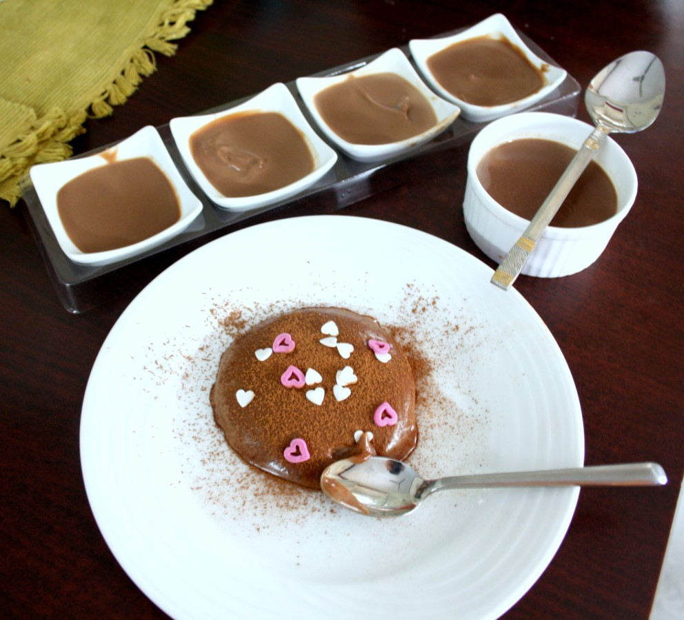 spice your life chocolate panna cotta with agar agar. Black Bedroom Furniture Sets. Home Design Ideas