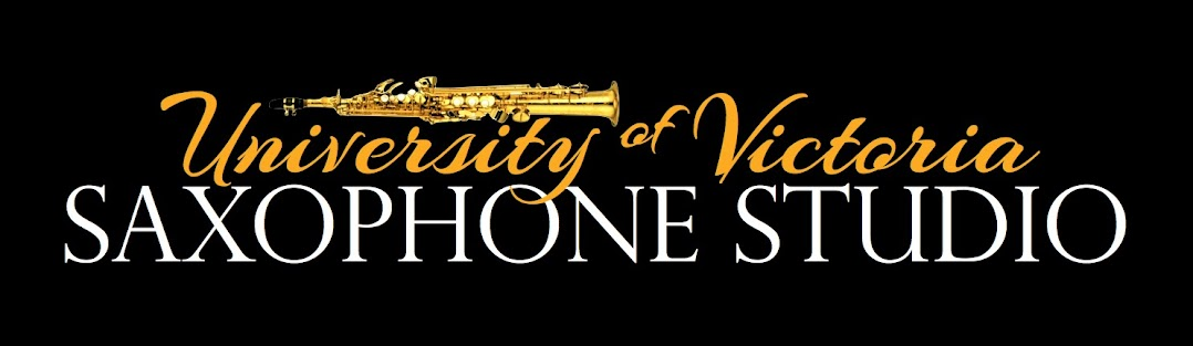 University of Victoria Saxophone Studio