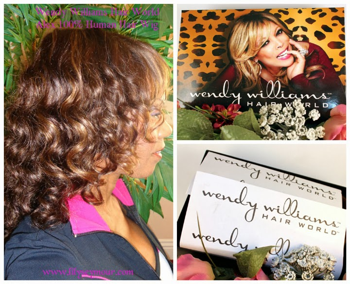 "Wendy Williams™ Hair World™ ""Alex 100% Human Hair Wig"""