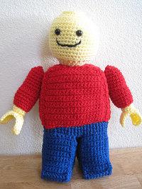 Amigurumi Lego Man : 2000 Free Amigurumi Patterns: Pattern For Amigurumi ...