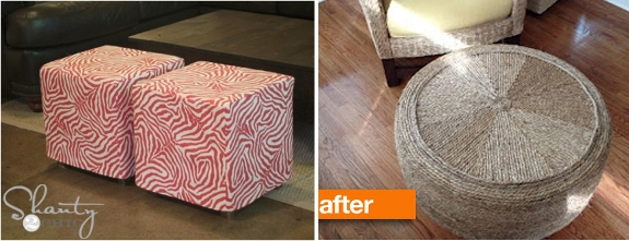 15 diy ottoman ideas pretty providence diy ottoman at domestic adventure fur ottoman makeover at the nester solutioingenieria Images