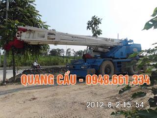 Cho thuê xe cẩu 25 tấn 35 tấn tại Hà nội