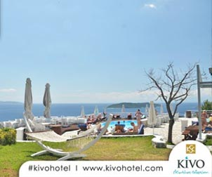 KIVO Art & Gourmet Hotel - Greek & Asian Restaurants - Cellar & Wine Bar