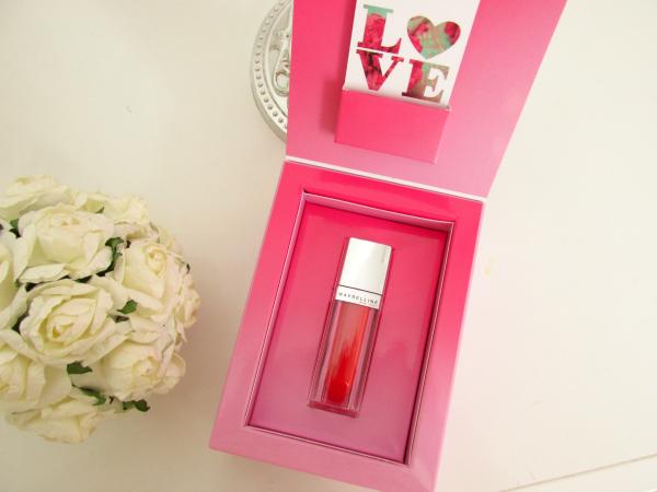 Maybelline Color Elixir Lip Laquer 505 Signature Scarlet Verpackung geöffnet