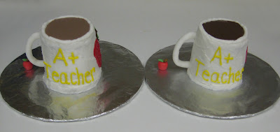 Tea Mug and Coffee Mug Cakes 2