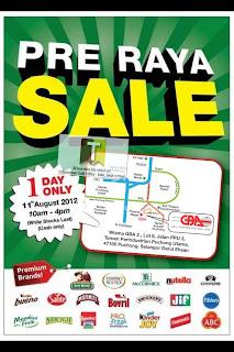 GBA Pre-Raya Warehouse Clearance Sale 2012