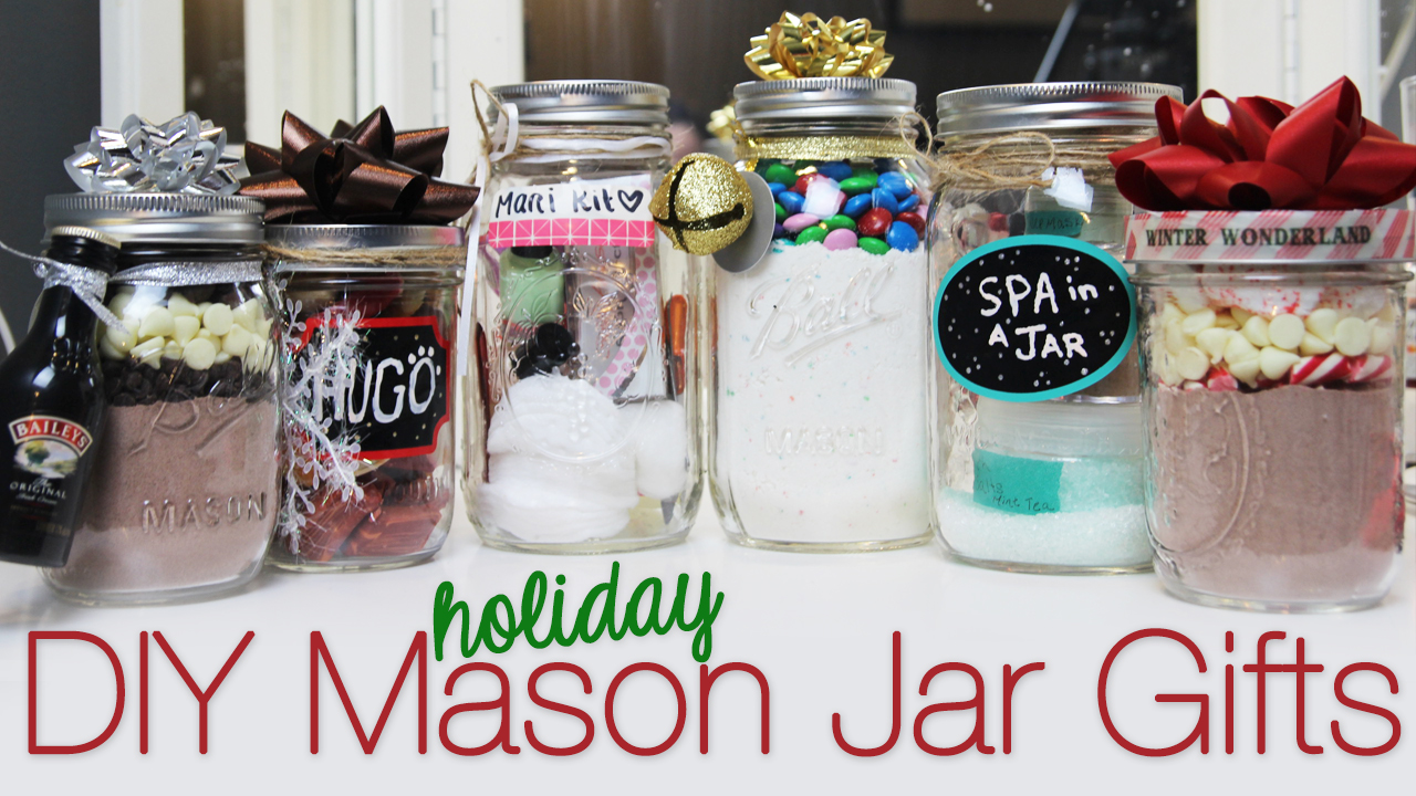 Andreamarie Yt Diy Holiday Mason Jar Gift Ideas