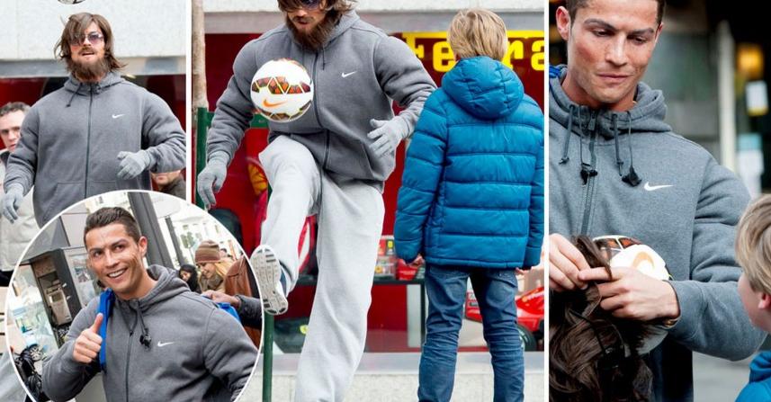 Free Style Video, Aksi Cristiano Ronaldo versi jalanan