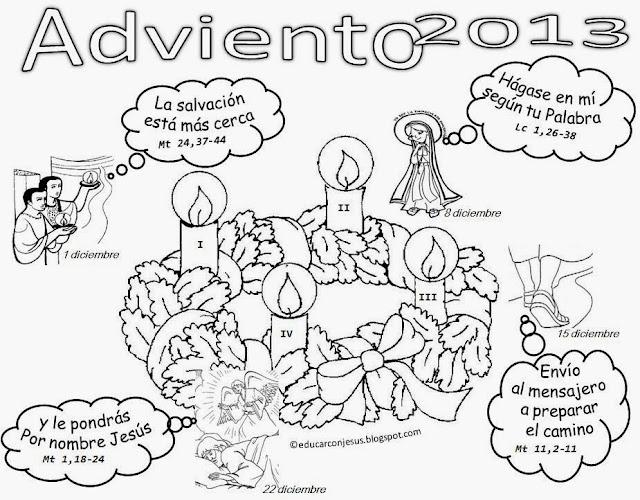 Blog para una Navidad Feliz: Calendarios Adviento 2013 ...