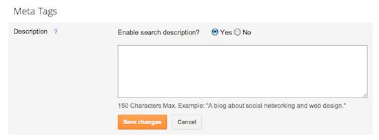Menampilkan Search Description pada blogger untuk SEO yang lebih baik 3