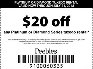 Peebles coupon code
