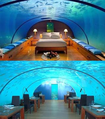 Beautiful Resorts Zone Conrad Maldives Rangali Island