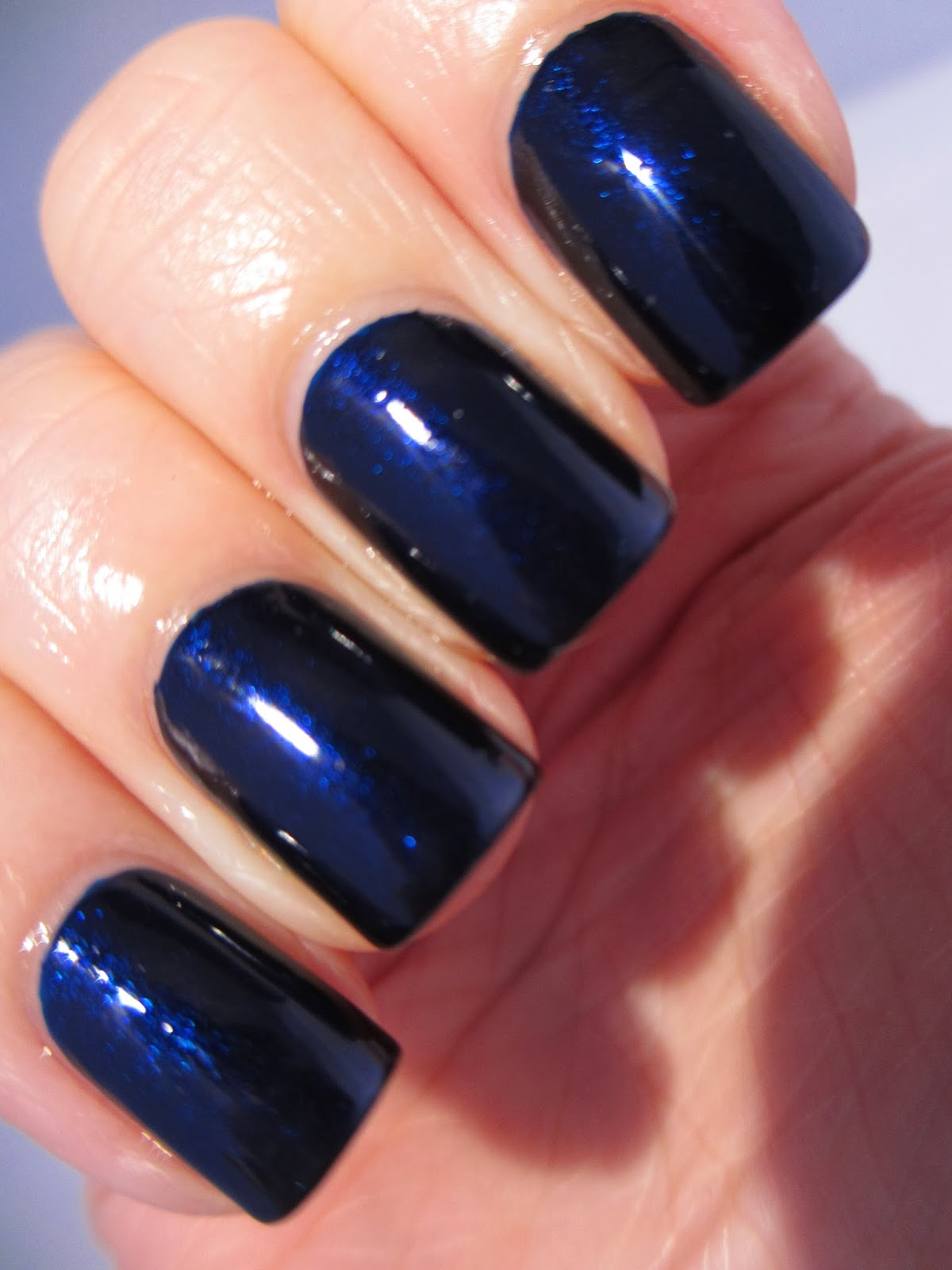 Naily perfect: Orly In The Navy swatch