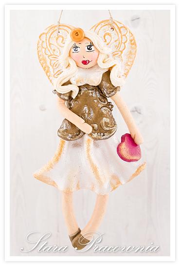 aniołek z masy solnej, aniołki z masy solnej, anioł anioły z masy solnej, mas aoslna, salt dough angels