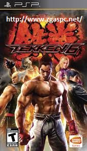 Download Game Tekken 6 ISO PSP  Full Version ZGAS-PC