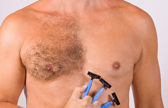Why do Men undertake Body Hair Removal?