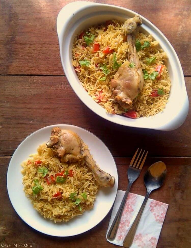 Bahraini Chicken and Spicy Rice Recipe