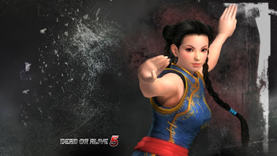 Pai Chan Dead or Alive 5 Fanmade Wallpaper
