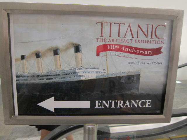 Titanic: The Artifact Exhibition @ Marina Bay Sands