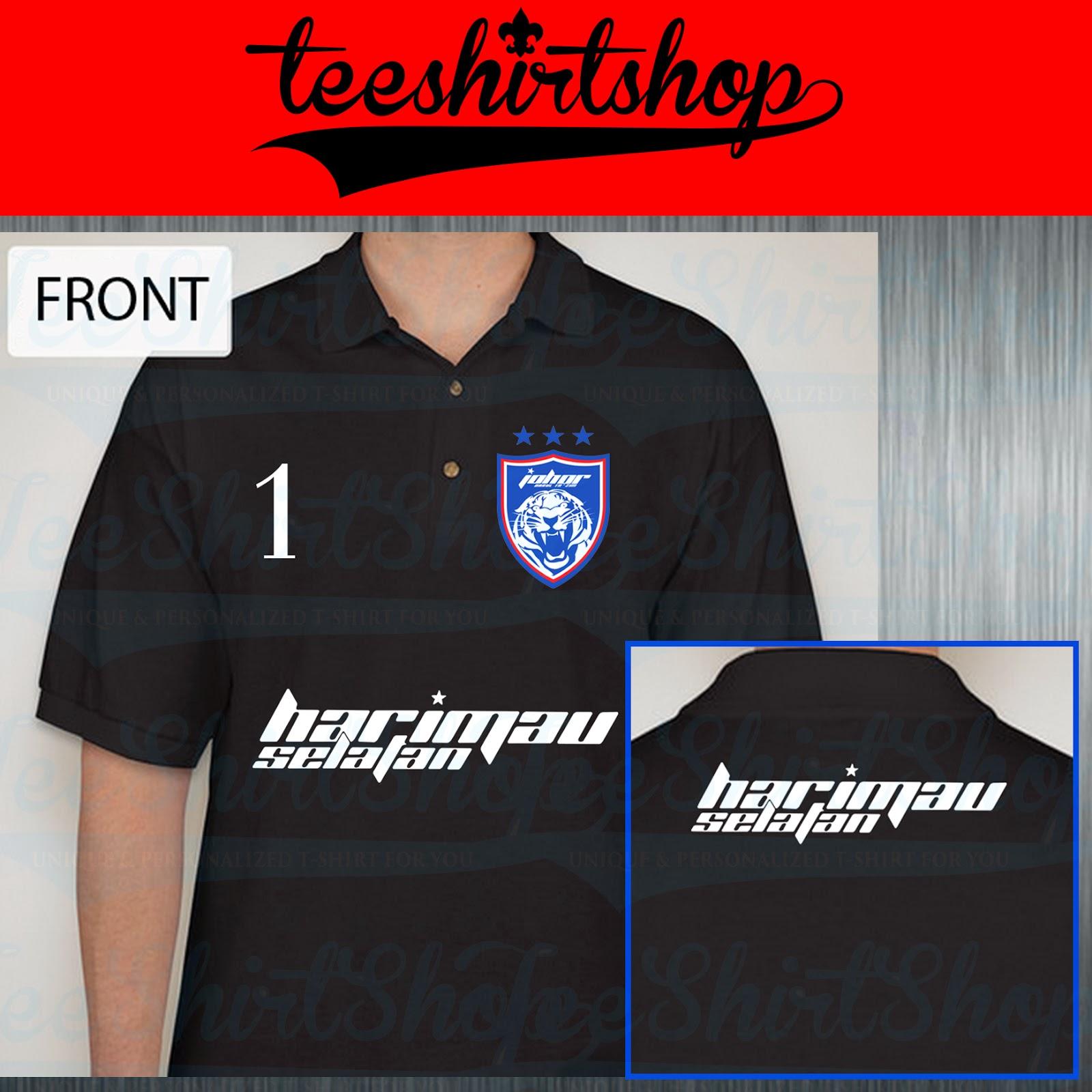 Design t shirt johor - Design T Shirt Jdt Jdt Polo Collar Tshirt 2014 Edition