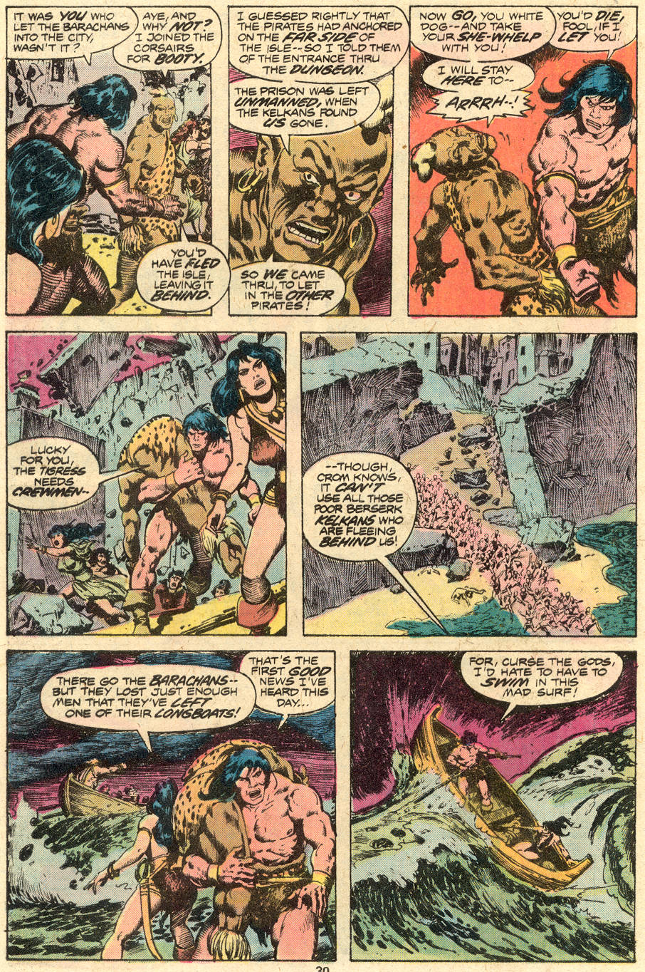 Conan the Barbarian (1970) Issue #71 #83 - English 17