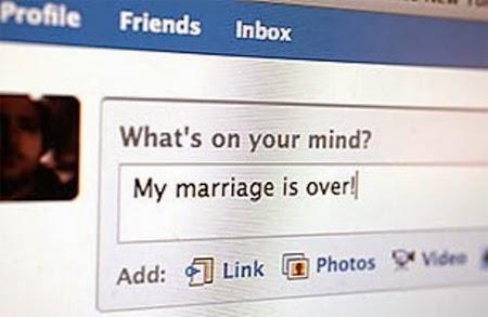 Ini bukti kerana facebook ramai pasangan bercerai