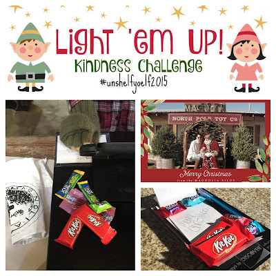 Elf on the Shelf Kindness Challenge #unshelfyoelf2015