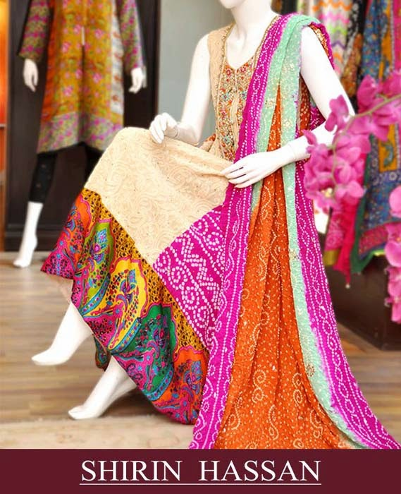 Shirin Hassan New Winter Arrival 2014
