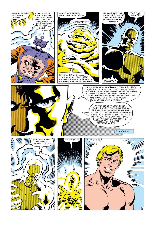 Captain America (1968) Issue #277 #193 - English 9