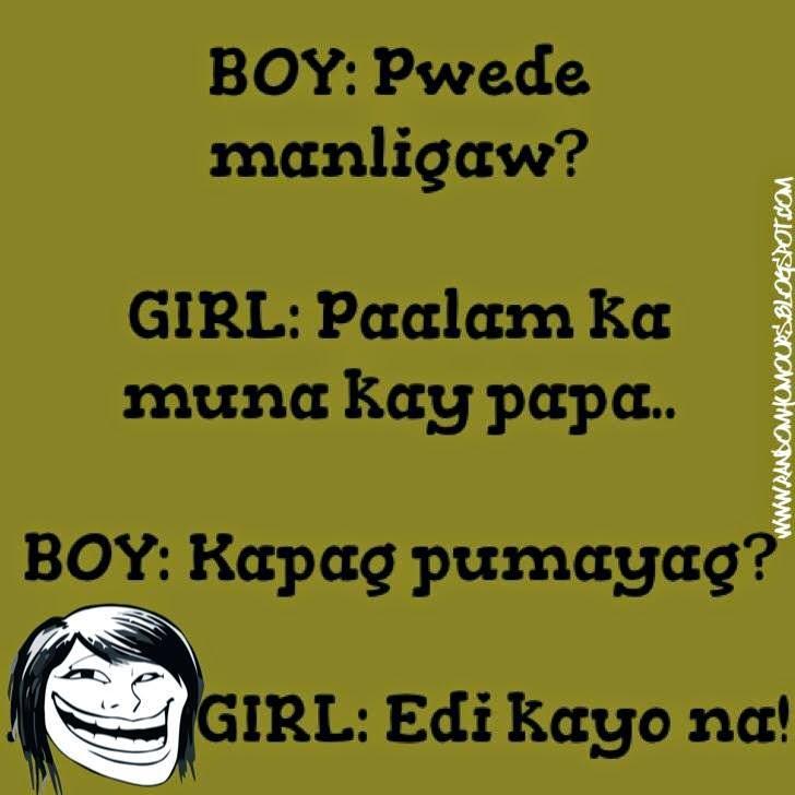 Ligawan ng Boy and Girl
