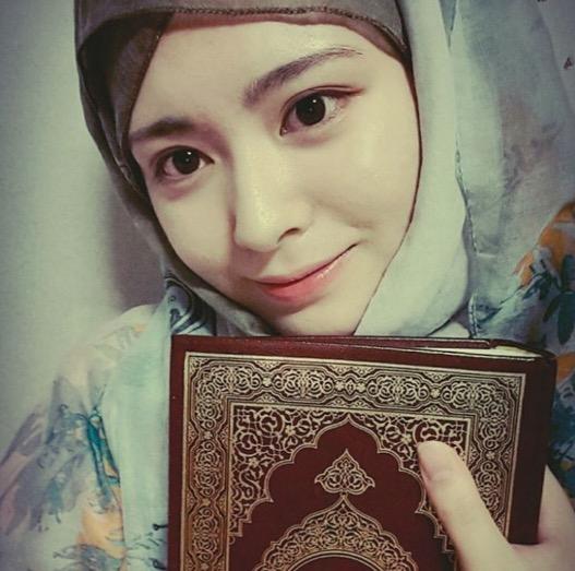 Gadis Korea memeluk Islam, Ayana