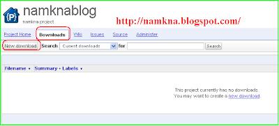 Hướng dẫn sử dụng Google code để chứa các file JS (javascript) - http://namkna.blogspot.com/