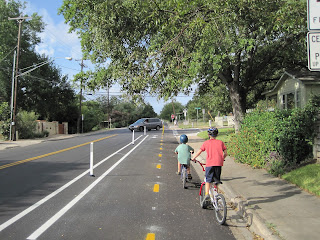 new family-friendly cycle tracks in Austin