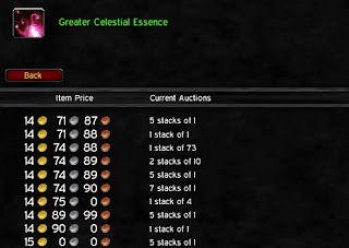 greater celestial essences wow