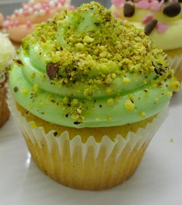 Pistachio cupcakes are nothing short of glorious.