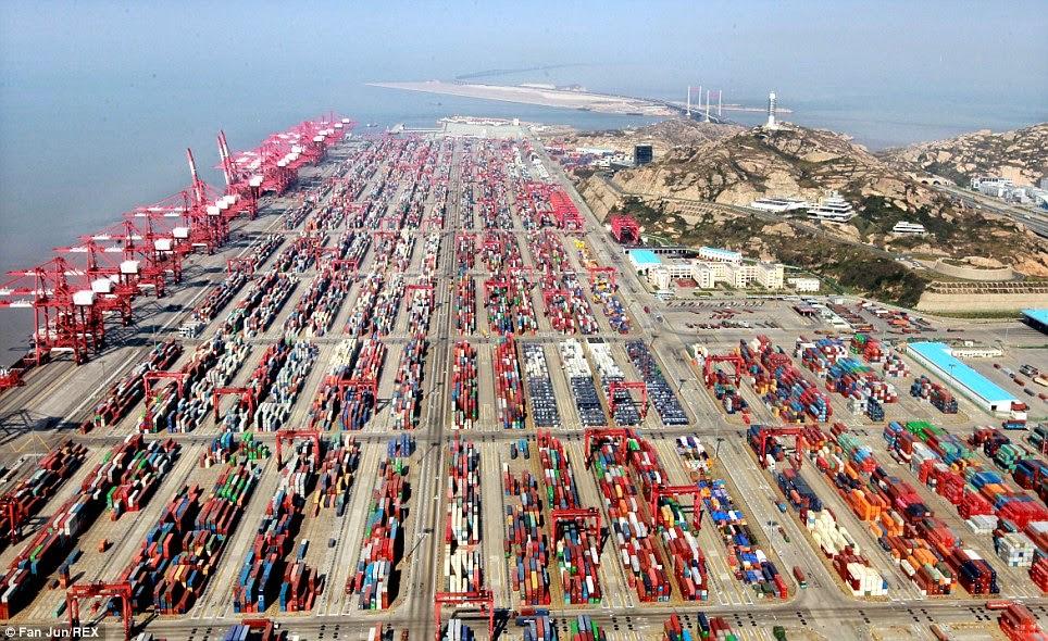 Resultado de imagen para puerto de Shanghái