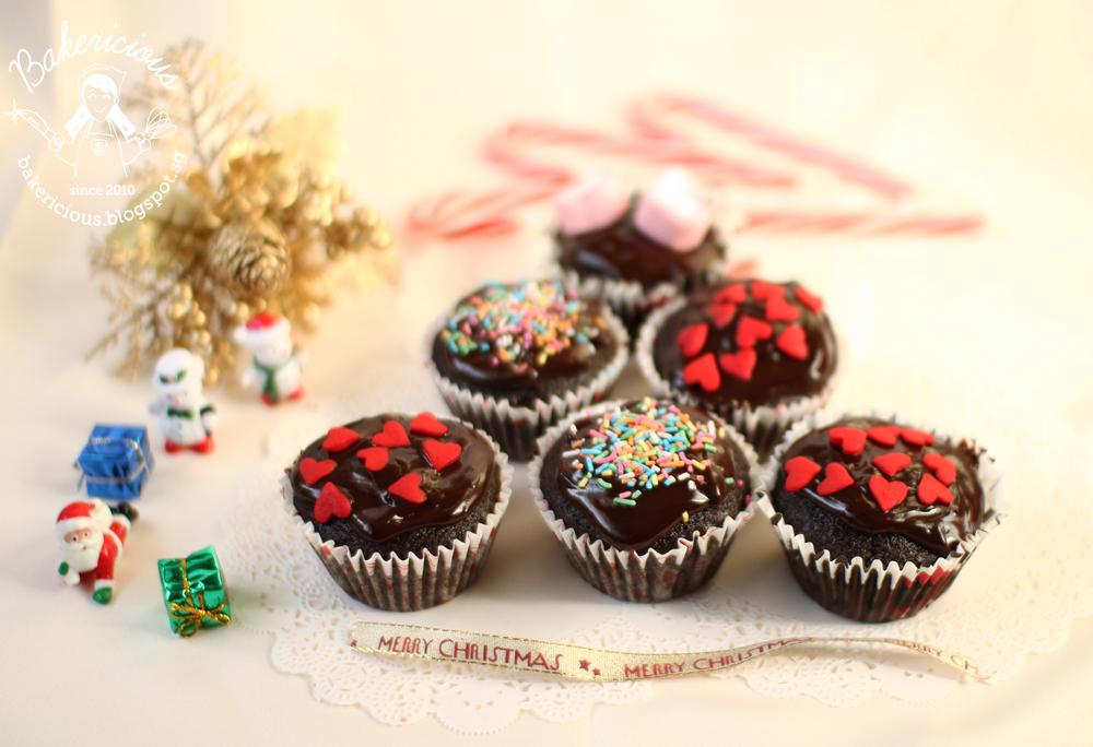 Bakericious: One-Bowl Chocolate Cupcakes (Martha Stewart)