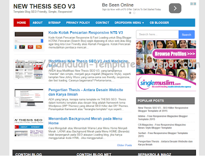 Template Blog New Thesis SEO V3