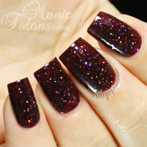 KBShimmer A Raisin to Live Swatch