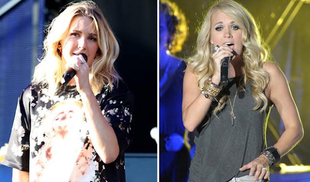 Ellie Goulding y Carrie Underwood se confirman para presentarse en los Grammy 2016