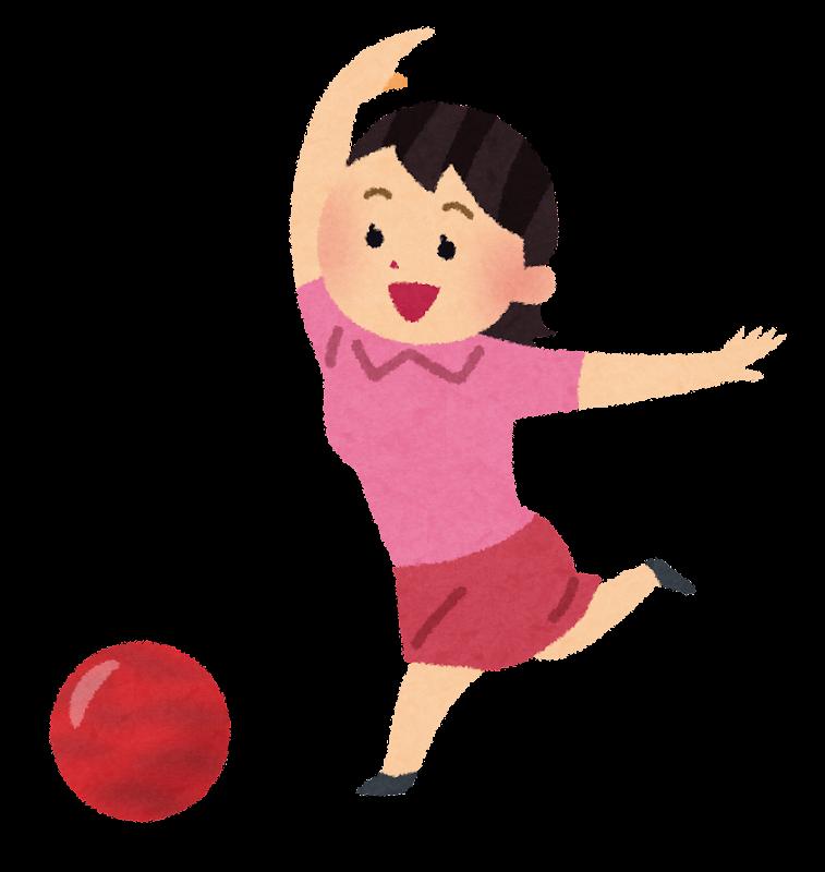 ボウリング(ボーリング)の球 ... : 年賀状 無料素材 テンプレート : 年賀状