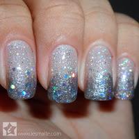 Especial Fim de Ano - Unha Decorada Glitter Esponjado