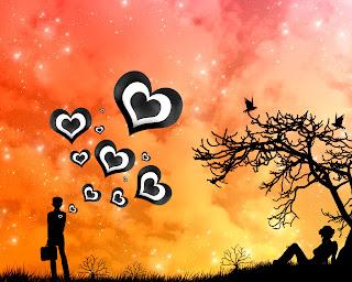 Passing Love Love Wallpaper