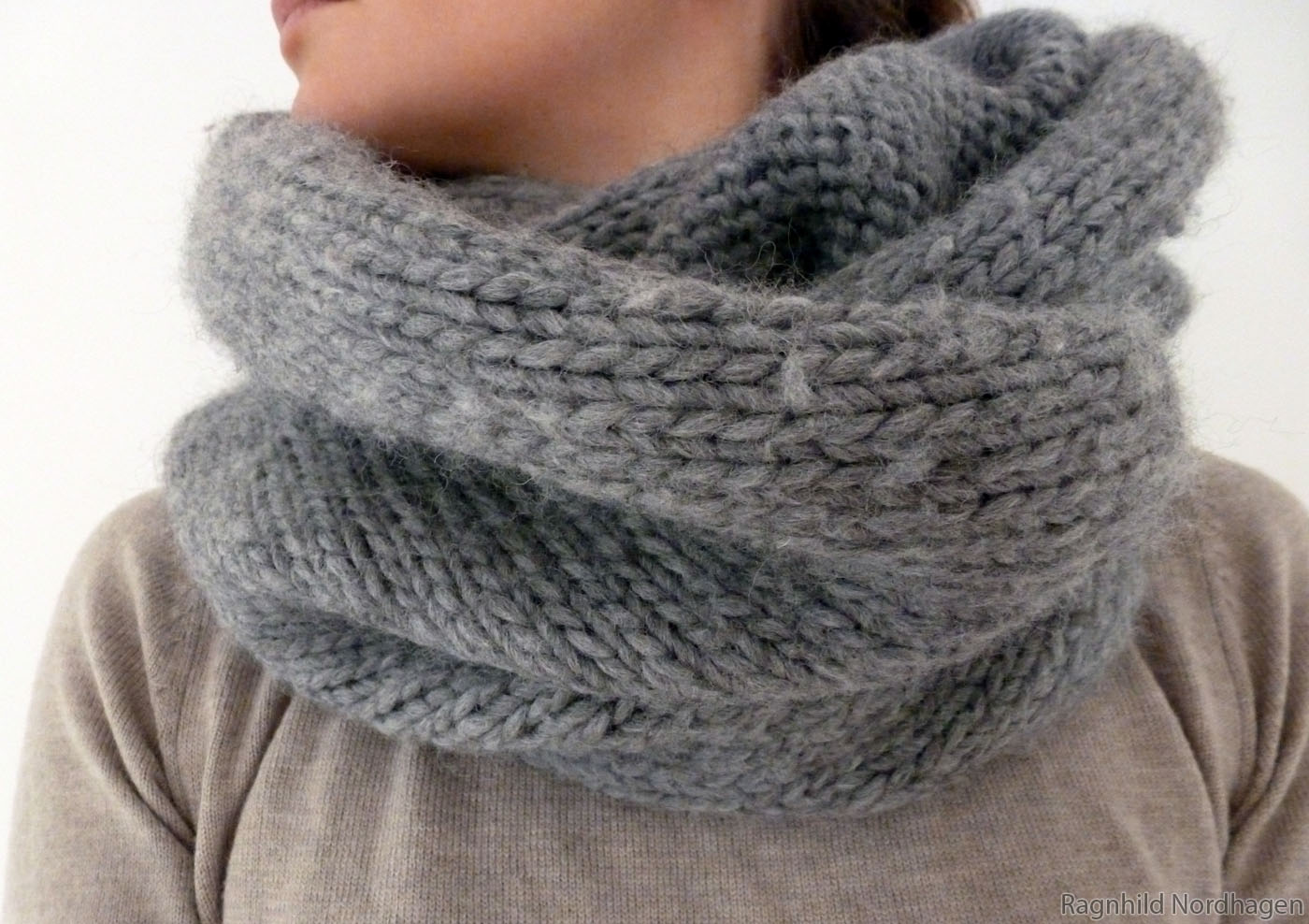 Knitting Patterns For Eskimo Wool : Tubular scarves Knitted it